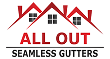 All Out Seamless Gutters Logo